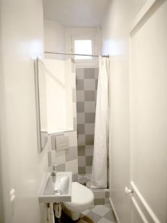 Separate bathroom/toilet.