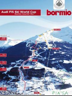 piste sci Bormio