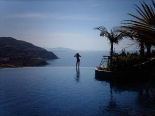 Relax by the infinity pool until the sun goes down.