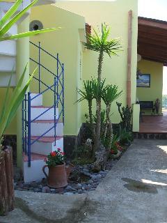 scala per il terrazzo solarium