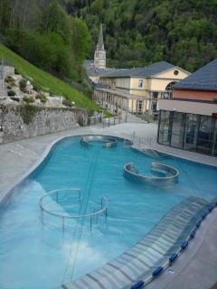 Les 'bains du Rocher' 200 m de la residence