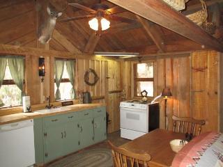 Large kitchen fully stocked
