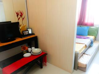 Fully furnished 22sqm  w/ resort/ hotel amenities, Quezon City