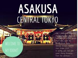 Only 5min from Skytree, 10min from Asakusa, Sumida