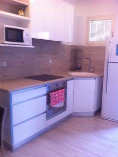 brun new kitchen