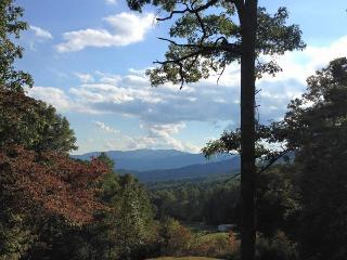 Bruins Den – Spacious Group Rental with Fire Pit, View, Hot Tub, and Wi-Fi Just 10 Minutes from the Great Smoky Mountains Railroad, Bryson City