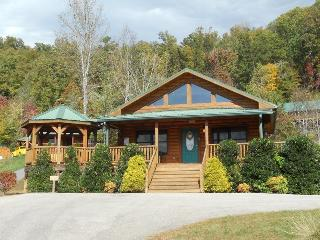 Native Winds Cabin -- Romantic Log Cabin with a Fireplace in the Bedroom, Hot Tub, View, and Wi-Fi - Only 10 Minutes from Harrahs Casino, Whittier