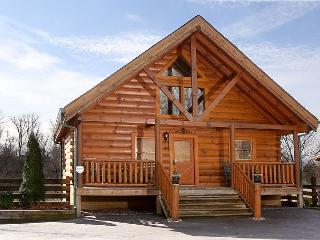 Forever & For Always a 2BR cabin sleeping 8. Access to the resort zip line., Sevierville
