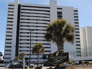 Glass enclosed balcony, OF unit Brigadune #6A Shore Dr Myrtle Beach SC