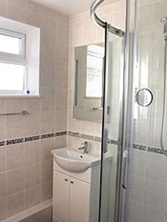 luxury shower area