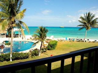 Double Balcony! Oceanfront 2 bedroom in Xaman Ha (XH7103), Playa del Carmen