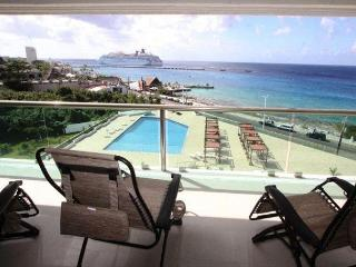 Oceanfront with pool 2 bedroom  (Palmar6E)