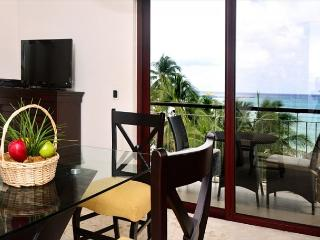 Luxurious 1 bedroom 2-bathroom beachfront condo (EFS307)