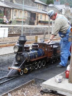 Miniture railway B-Y-C