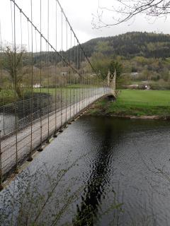Suspension bridge B-B-C