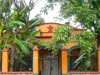 Casa Murguia is set back from the street by a classic 1950's garden.