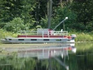Optional pontoon boat