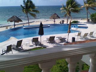 View right off private veranda