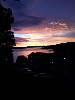 Every night is a beautiful sunset overlooking the main channel.
