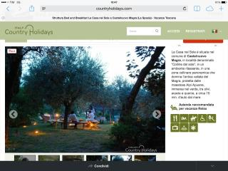 bed and breakfast, Castelnuovo Magra