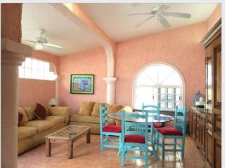 The Suite Arriba of Casa Caribe-one large 1 bedroom suite upstairs-private entry