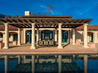 Ocean views from the private pool at this amazing Mediterranean estate - Cielo Escondido (Hidden Heaven), Montecito