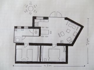 Apartment Balsamina map