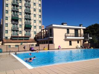 Appartamento trilocale in residence con piscina a Lido degli Scacchi