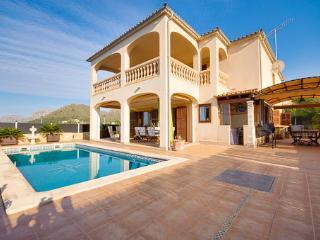 Chalet tranquilo con piscina y vistas al mar, Colonia de Sant Pere