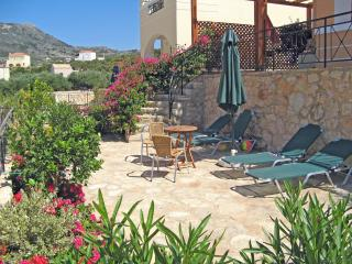 Relax on the sunbeds at the private poolside patio