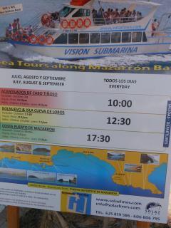 Boat trips from Puerto Mazarron Marina