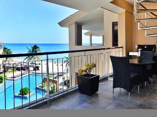 Dine al fresco on your private balcony