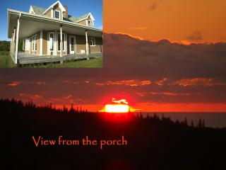 home rental on Cape Breton's gorgeous sunset coast, Inverness