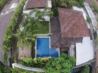 The villa from above