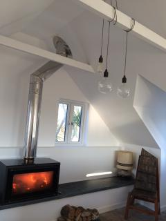 Cosy and comfortable, with high beamed ceilings bringing style and space.