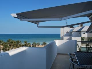 Magnifique Penthouse  neuf en 1° ligne de plage, Peniscola