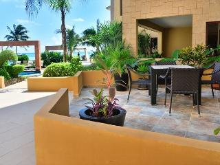 Oceanfront, Furnished Terrace, 2 King Size Beds, Steps to Pool, Downtown Playa