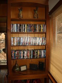 Just one side of our extensive movie collection.