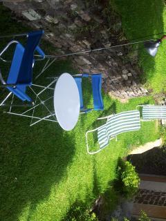 area relax ombreggiata giardino