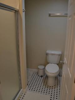 Bathroom no#2 located in the basement, an ideal area to work out!