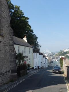 Meadfoot Lane, Torquay - the road to the sea.