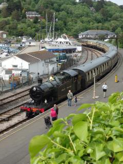 Paignton & Dartmouth Steam Railway - a 30-minute ride with scenic sea and river views