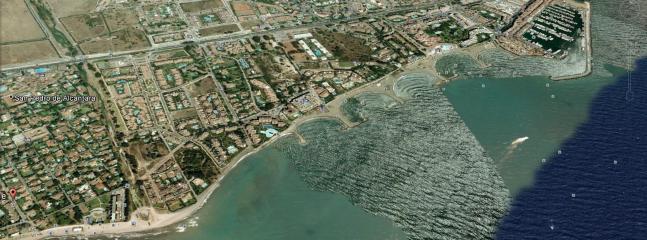 Carte du quartier de la résidence-Urbanización Castigione Fase I app. 2C-collé à Puerto Banús
