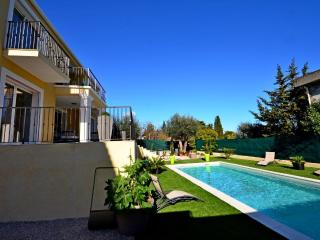 Exterior of villa Oceane