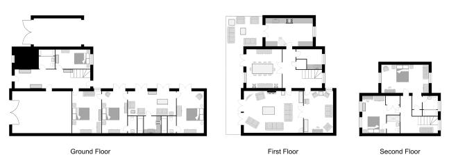 Nightingale House and Mews floor plans