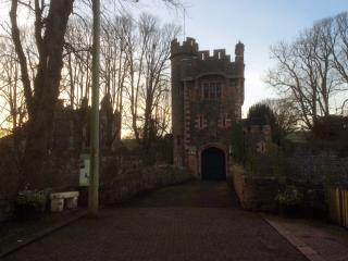 Barbican gate, Glenarm Castle