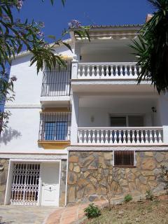 Vlak bij  Malaga! luxe appartement (max 4 prs), zeezicht (Benajarafe)