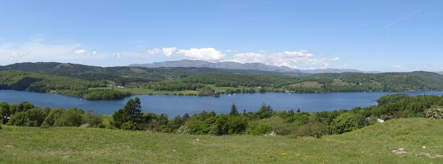 Panormanic view of lake Windermere