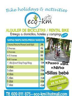 Alquiler de bicicletas // Bike rental