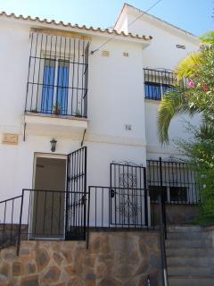Ingang studio-appartement El Sol